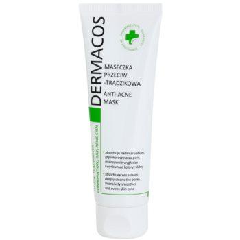 Ideepharm Dermacos Combination Oily Acne Skin maschera detergente per pelli grasse con tendenza all'acne 50 ml