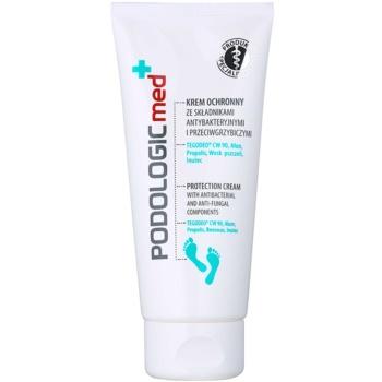 Ideepharm Podologic Med crema protettiva piedi con ingrediente antibatterico (TegoDeo CW 90, Alum, Propolis, Beeswax, Inutec) 100 ml