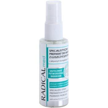 Ideepharm Radical Med Psoriasis trattamento lenitivo professionale per pelli e cuoi capelluti affetti da psoriasi 50 ml