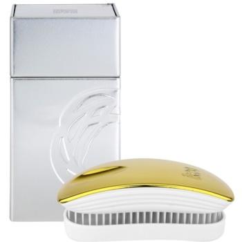 ikoo Metallic Pocket spazzola per capelli Soleil White