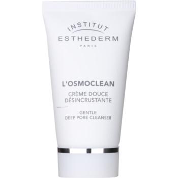 Institut Esthederm Osmoclean crema detergente delicata per pori ostruiti (Gentle Deep Pore Cleanser) 75 ml