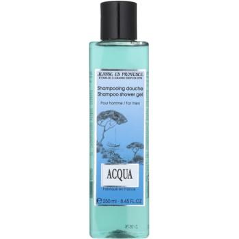 Jeanne en Provence Acqua gel doccia per uomo 250 ml