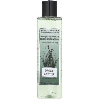 Jeanne en Provence Lavander & Vétiver gel doccia per uomo 250 ml