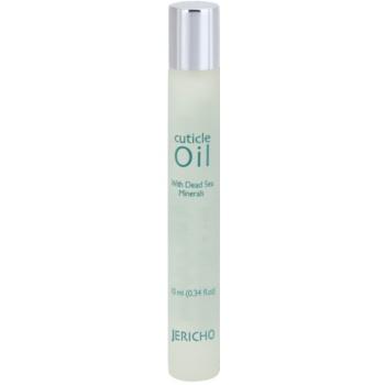 Jericho Body Care olio per cuticole e unghie sane con minerali del Mar Morto (Jericho) 10 ml