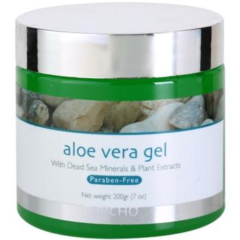 Jericho Body Care gel viso con aloe vera (With Dead Sea Minerals & Plant Extracts) 200 ml