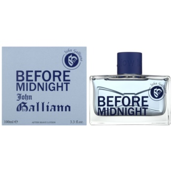 John Galliano Before Midnight lozione post-rasatura per uomo 100 ml