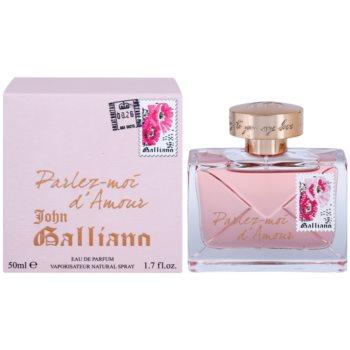 John Galliano Parlez-Moi d'Amour eau de parfum per donna 50 ml