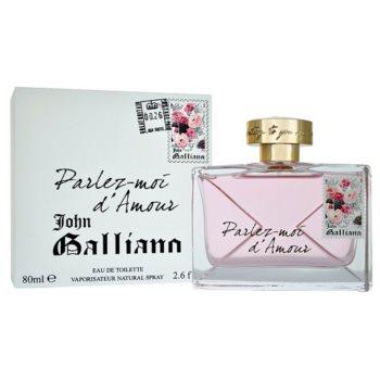 John Galliano Parlez-Moi d'Amour eau de toilette per donna 80 ml