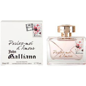 John Galliano Parlez-Moi d'Amour eau de toilette per donna 50 ml