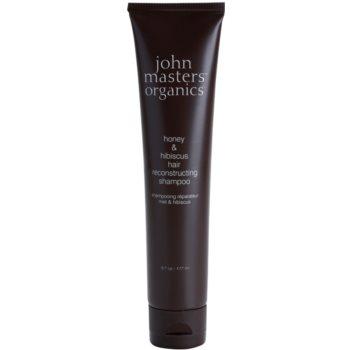 John Masters Organics Honey & Hibiscus shampoo rigenerante per capelli più forti 177 ml