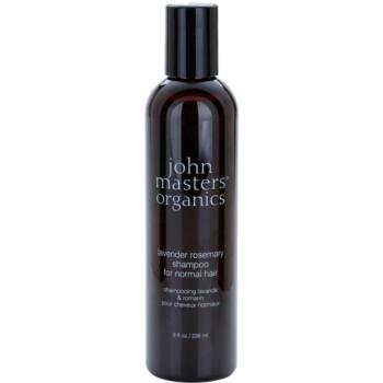 John Masters Organics Lavender Rosemary shampoo per capelli normali 236 ml