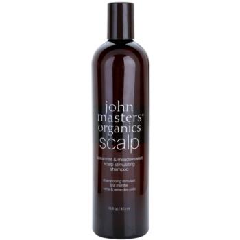 John Masters Organics Scalp shampoo stimolante per un cuoio capelluto sano Spearmint & Meadowsweet (Scalp Stimulating Shampoo) 473 ml