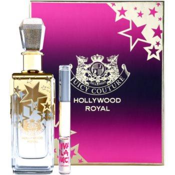 Juicy Couture Hollywood Royal kit regalo I. – Duo EDP Roll-on Juicy Couture Hollywood Royal + Viva La Juicy eau de parfum 150 ml + roll-on 2 x 5 ml