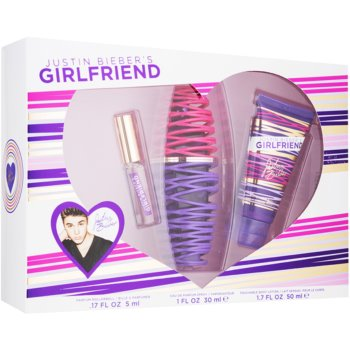 Justin Bieber Girlfriend kit regalo II eau de parfum 30 ml + profumo 5 ml + latte corpo 50 ml