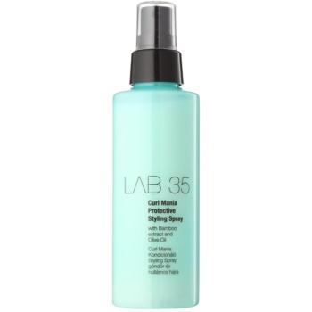 Kallos LAB 35 spray modellante per capelli mossi Curl Mania (with Bamboo Extract and Olive Oil) 150 ml