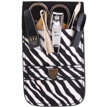 Kellermann Manicure kit per la manicure perfetta zebra 6 pz