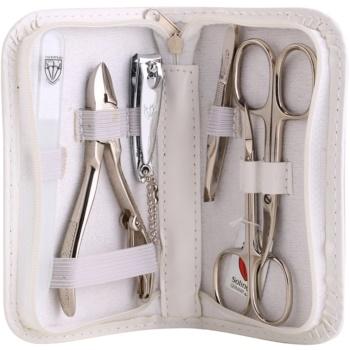 Kellermann Manicure kit per la manicure perfetta bianco 6 pz