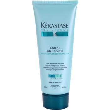 Kérastase Resistance trattamento intensivo rinforzante per capelli indeboliti e leggermente danneggiati e per doppie punte Ciment Anti-Usure [1 2] (Strengthening Anti-Breakage Cream) 200 ml