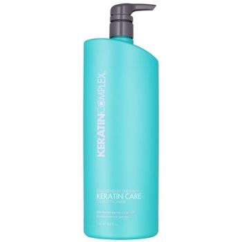 Keratin Complex Smoothing Therapy balsamo per capelli brillanti e morbidi (Keratin Care) 1000 ml