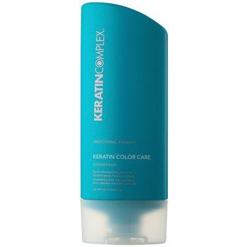 Keratin Complex Smoothing Therapy balsamo idratante e lisciante protezione colore (Keratin-Enriched Formula) 400 ml