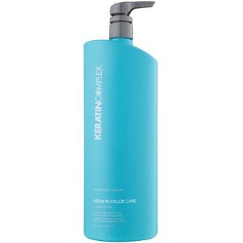 Keratin Complex Smoothing Therapy balsamo idratante e lisciante protezione colore (Keratin-Enriched Formula) 1000 ml