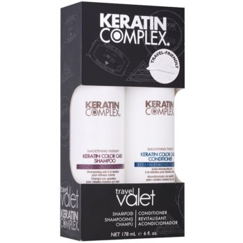 Keratin Complex Smoothing Therapy set di cosmetici I.