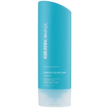 Keratin Complex Smoothing Therapy shampoo protezione colore senza sulfati (Keratin Color Care) 400 ml