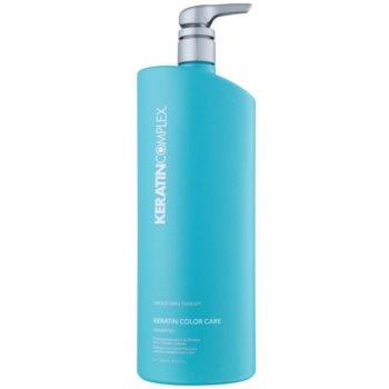 Keratin Complex Smoothing Therapy shampoo protezione colore senza sulfati (Keratin Color Care) 1000 ml