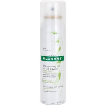 Klorane Avoine shampoo secco per tutti i tipi di capelli (Dry Shampoo with Oat Milk) 150 ml