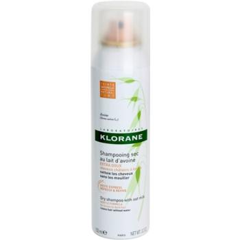 Klorane Avoine shampoo secco per capelli castani e scuri (Dry Shampoo with Oat Milk for Brown to Dark Hair) 150 ml