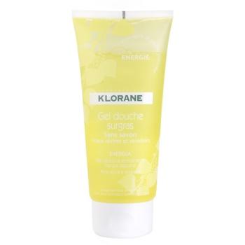 Klorane Hygiene et Soins du Corps Energie gel doccia (Sans Savon) 200 ml