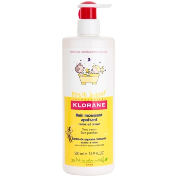 Klorane Petit Junior bagnoschiuma per bambini (Bain Moussant Apaisant) 500 ml