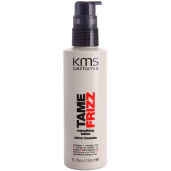 KMS California Tame Frizz latte lisciante per capelli pettinabili (Detangles + Manages Frizz) 150 ml
