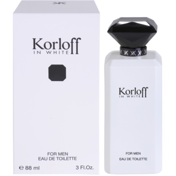 Korloff In White eau de toilette per uomo 88 ml