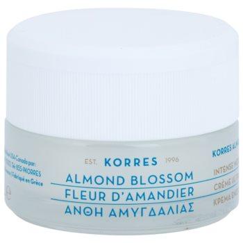 Korres Face Almond Blossom crema idratante e nutriente per pelli secche e molto secche 40 ml