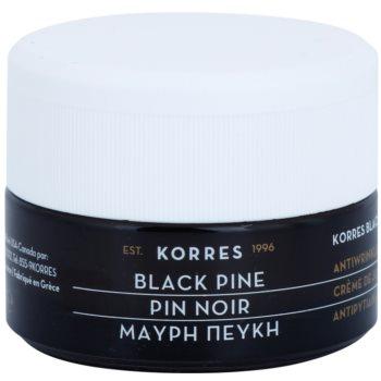 Korres Face Black Pine crema lifting giorno antirughe per pelli secche e molto secche 40 ml