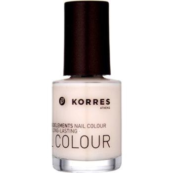 Korres Decorative Care Nail Colour smalto per unghie colore 05 Baby Pink (Myrrh & Oligoelements) 10 ml