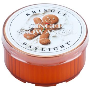 Kringle Candle Ginger Snow Angel candela scaldavivande 35 g
