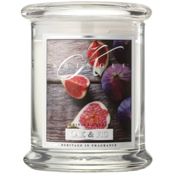 Kringle Candle Oak & Fig candela profumata 240 g
