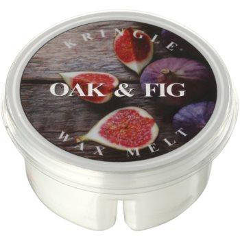Kringle Candle Oak & Fig cera per lampada aromatica 35 g