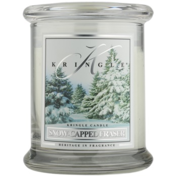 Kringle Candle Snow Capped Fraser candela profumata 240 g