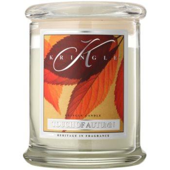Kringle Candle Touch of Autumn candela profumata 411 g