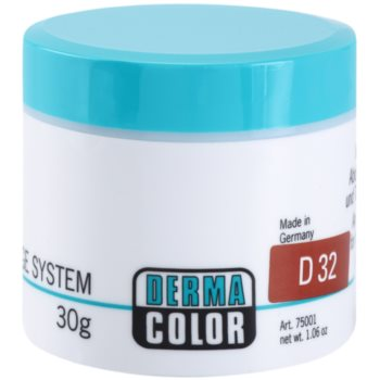 Kryolan Dermacolor Camouflage System correttore e fondotinta in crema 2 in 1 colore D 32 (Camouflage Creme) 30 g