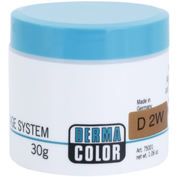 Kryolan Dermacolor Camouflage System correttore e fondotinta in crema 2 in 1 colore D 2W (Camouflage Creme) 30 g