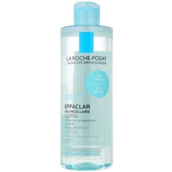 La Roche-Posay Effaclar acqua micellare detergente per pelli problematiche, acne (Micellar Water Ultra) 400 ml