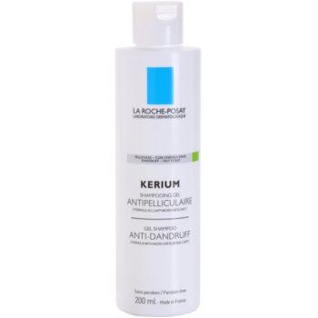 La Roche-Posay Kerium shampoo contro la forfora grassa (Anti-Dandruff Gel Shampoo) 200 ml