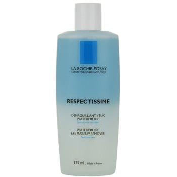 La Roche-Posay Respectissime struccante per trucco waterproof per pelli sensibili (Waterproof Eye Make-Up Remover) 125 ml