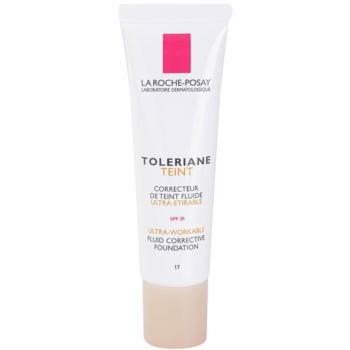 La Roche-Posay Toleriane Teint Fluide fondotinta liquido per pelli sensibili SPF 25 colore 17 (Fluid Corrective Foundation) 30 ml