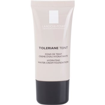 La Roche-Posay Toleriane Teint fondotinta crema idratante per pelli normali e secche colore 03 Sand SPF 20 (Hydrating Water-Cream Foundation) 30 ml