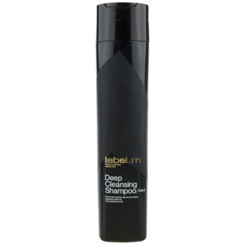 label.m Cleanse shampoo detergente per cuoi capelluti sensibili (Deep Cleansing Shampoo) 300 ml